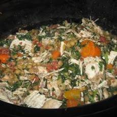 Scrumptious Chicken Vegetable Stew