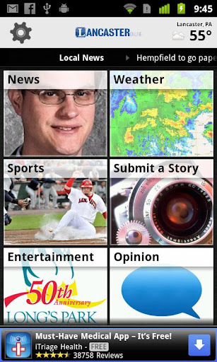 lancasteronline for android screenshot
