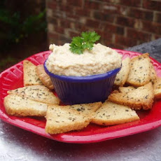 Bean and Sesame Seed Spread (Easy Hummus)