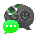 GO SMS THEME - Smooth Green icon
