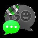 GO SMS THEME - Smooth Green icon