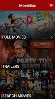 Screenshot of Movie Box