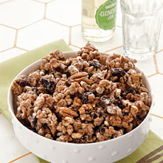 Spiced Pecan-Cherry Crunch Mix