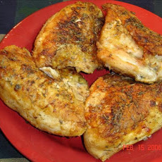 Maple Baked Chicken Breasts