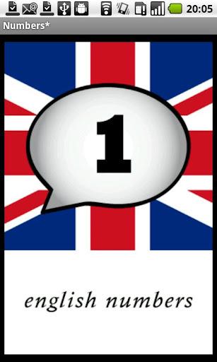 English Numbers Demo