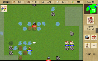 Screenshot of Exploration Colony Strategy