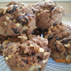 Low Fat Apple Banana Raisin Bread