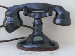 Cradle Phones - Western Electric A1  3 1