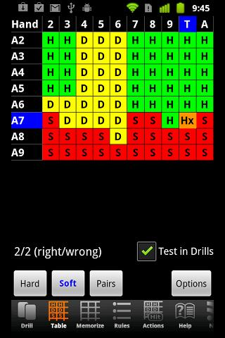 Blackjack Mentor - screenshot