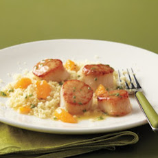 Scallops with Orange-Butter Sauce