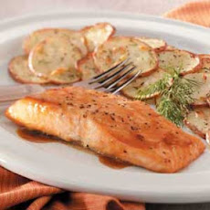 Brown Sugar-Glazed Salmon