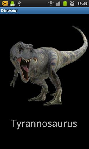 恐竜は 頭の人形を横に振った