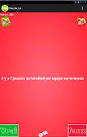 Screenshot of Vrai ou Faux ?