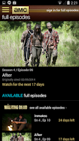 Screenshot of AMC Mobile for phone