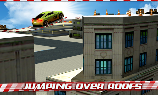 Crazy Car Roof Jumping 3D - screenshot