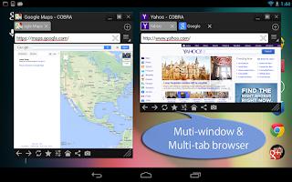 Screenshot of Floating Browser COBRA Free