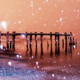 let it snow by Piroska B - News & Events Weather & Storms