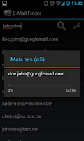 Screenshot of Find Email Address - Promo