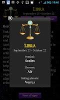 Screenshot of Horoscope Today