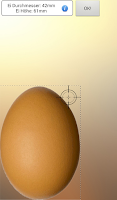 Screenshot of The perfect egg timer