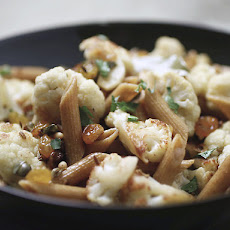 Sicilian-Style Cauliflower with Whole Wheat Pasta