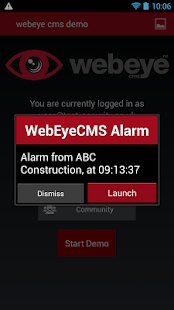 WebEyeCMS Demo - screenshot