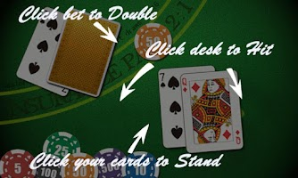 Screenshot of AE Blackjack