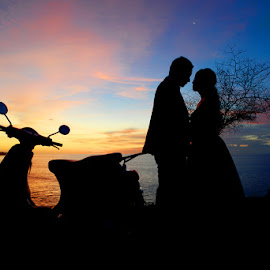 Silhouette by Badruz Zaman - Wedding Bride & Groom (  )