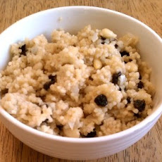 Couscous with Pine Nuts and Currants