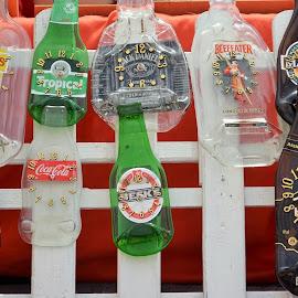 orologi originali by Francesco Benettolo - Artistic Objects Clothing & Accessories ( bottiglie, tempo, oggettistica, birre, orologi )