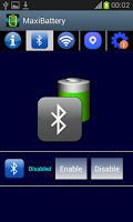 Screenshot of MaxiBattery battery protector