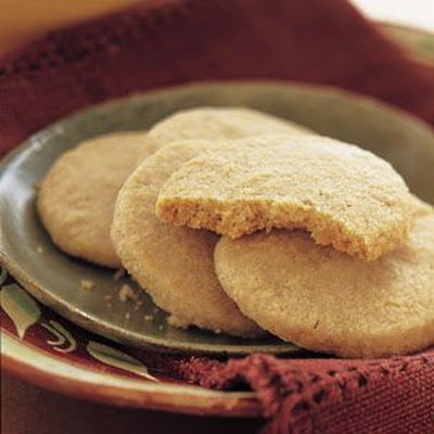 Toasted Piñon Shortbread