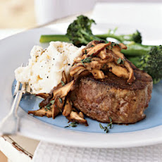 Tenderloin Steaks With Mushroom, Marsala Sauce