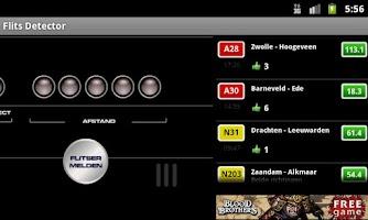Screenshot of Flits detector