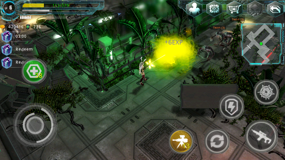 Alien Zone Plus Screenshot 3