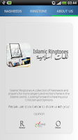 Screenshot of Islamic RingTones