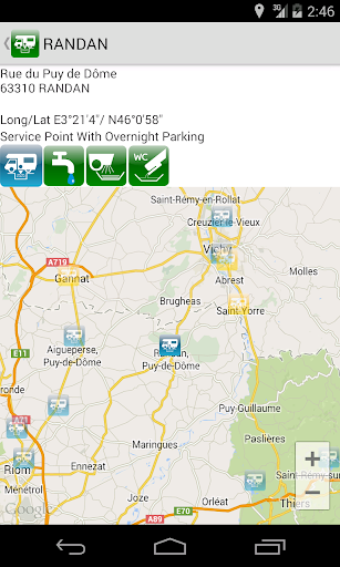 Aires Camping Car (France) - screenshot