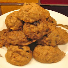 Raisin Bran Chocolate Chip Cookies