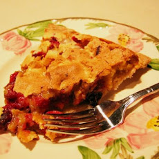 Cranberry Indulgence Pie