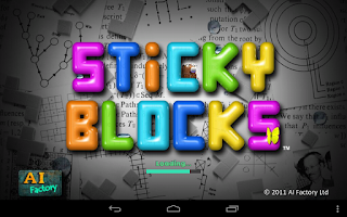 Screenshot of Sticky Blocks