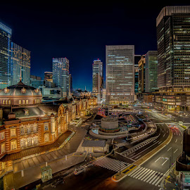 Tokyo Station by Matthew Haines - Buildings & Architecture Public & Historical