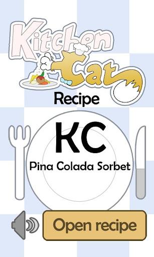 KC Pina Colada Sorbet