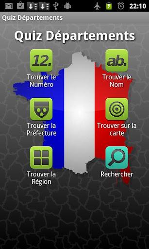 Quiz French Departements