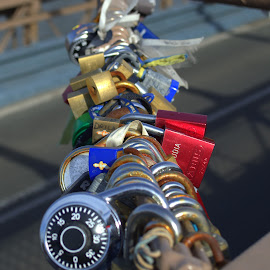 LOVE PADLOCKS. by Andrew Piekut - Artistic Objects Other Objects