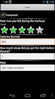 Screenshot of St. Yin's DVD Workout Tracker