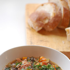 Hearty Lentil and Ham Soup