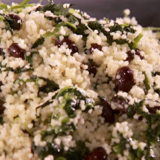 Black Bean and Spinach Couscous