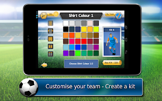 Screenshot of Fluid Soccer Versus