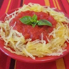 Spaghetti Squash with Marinara
