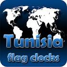Tunisia flag clocks icon